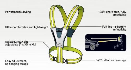 Reflective Xinglet Pocket Vest